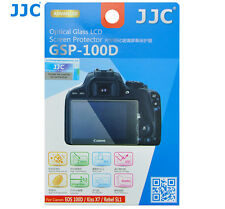 JJC GSP100D GLASS LCD Screen Protector Film for CANON EOS 100D Kiss X7 Rebel SL1