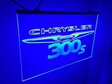 Chrysler 300 Custom Dodge Led Light Sign , Game Room , Bar , garage