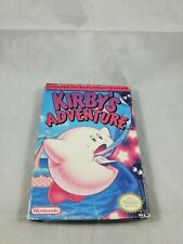 Kirby's Adventure Nintendo NES Complete in Box CIB Not Mint