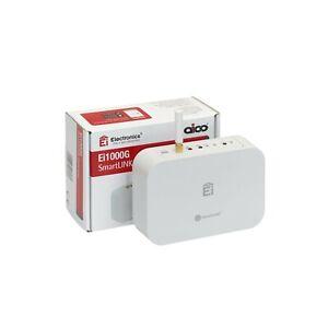 Aico Ei1000G SmartLINK Gateway Mains Powered Battery Backup SmartLINK app White