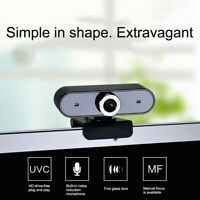 USB 2.0 1080 HD Webcam Web Cam Camera With Microphone Mic For Laptop PC Desktop