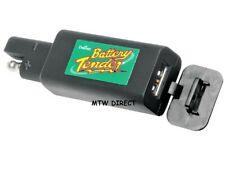 Battery Tender Motorcycle Bike ATV Vehicle QDC USB Charger Plug 12v BCHTEN07