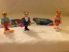 PLAYMOBIL MERMAIS AND NEPTUNE KING #4656,4557,4545