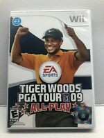 Tiger Woods PGA Tour 09 All-Play (Nintendo Wii, 2009) Sports Golf - Complete