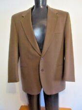 Lanificio Del Casentino Brown Cashmere Wool Blazer Size 52 Euro 46US