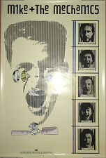 MIKE & THE MECHANICS - 1985 Atlantic promotional poster, 24x36, EX, Genesis