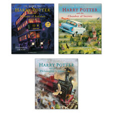 Harry Potter Illustrated Hardback 3 Book Collection Set (RRP £90) Jim Kay