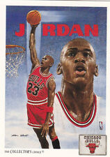 1991/92 Michael Jordan Upper Deck Chicago Bulls Checklist NBA Card #75 NM-Mint
