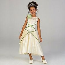 DISNEY PRINCESS TIANA WEDDING COSTUME DRESS 10-NEW