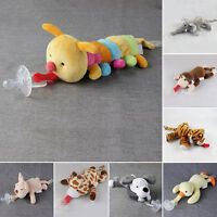 CUTE Baby Dummy Dummies Child Soother Pacifier Kid Boy Girls Animal Doll Soothie