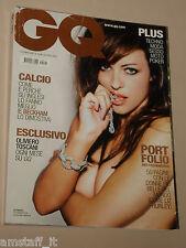 LIZ HURLEY COVER MAGAZINE CQ 2005=THE MOST BEAUTIFUL WOMEN IN WORLD PORTFOLIO=