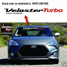 Windshield Decal Banner Stripes Fits HYUNDAI Veloster Turbo 2011 to 2019