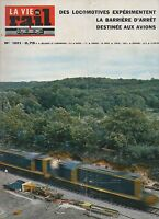 la vie du rail N°1011 locomotives barriere d'arret   1965