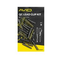 Avid Carp Outline QC Lead Clip Kit *New* - Free Delivery