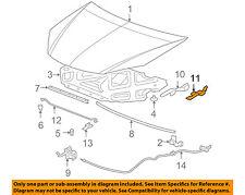 Pontiac GM OEM 05-10 G6 Hood-Hinge Right 22701366