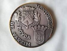 Médaille jumelage Montgeron Povoa de Varzim 1986