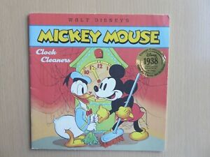MICKEY MOUSE CLOCK CLEANERS LIVRE EN ANGLAIS