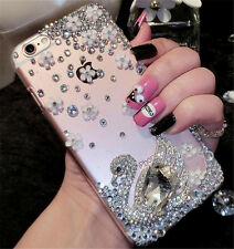 Glitter Luxury Bling Diamonds Crystal hard Back Phone Case Cover For Samsung #1