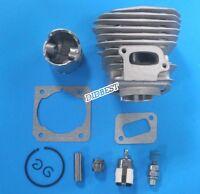 44mm Zylinder Kolbensatz für HUSQVARNA 350 351 353 346XP Zylindersatz Dekoventil