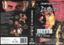 L'INCONFUTABILE VERITA' SUI DEMONI (2000) vhs ex noleggio