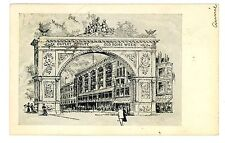 Providence RI - OUTLET DEPARTMENT STORE- OLD HOME WEEK ARCH - Postcard