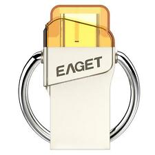 EAGET CU66 16G USB 3.0 to USB 3.1 Type-C USB-C Memory Stick Flash Drive OTG E3F9