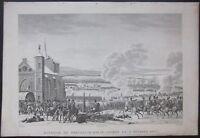 1850ca BATAILLE PREUSSICH-EYLAU Napoleone Bonaparte Bagrationovsk Багратио́новск