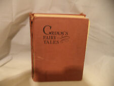 VINTAGE Book, Grimms' Fairy Tales, 1922 Ed. Illus by RIE CRAMER