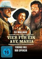 VIER FÜR EIN AVE MARIA   DVD NEU TERENCE HILL/BUD SPENCER/ELI WALLACH/+