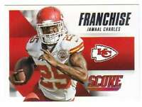 2015 Panini Score Football Franchise #16 Jamaal Charles Chiefs