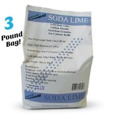 Soda Lime Granules, 3 lb. bag by Jorgensen, CO2 Absorber Sodasorb