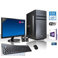 """PC DESKTOP COMPLETO QUAD CORE WINDOWS 10/WIFI/HD 1TB/RAM 8GB/MONITOR 19"""""""