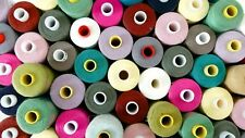 30 X 1000m Branded Polyester Cotton Thread 120s Job Lot - Coats Oxelene Polysew