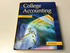 COLLEGE ACCOUNTING, CHAPTERS 1-25, PRICE, HADDOCK, BROCK, VERY GOOD