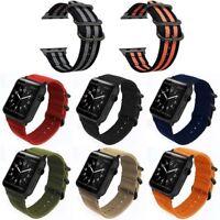 Nylon Woven Sport Loop Armband Armband 38/42mm für Apple Watch Serie 1 2 3 GE