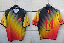 Maillot rugby BELGIQUE porté n°14 7 ' s WUC PORTO 2010 worn shirt collection