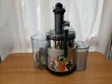 Morphy Richards electric juicer, stainless steel, 700W, 2 speeds