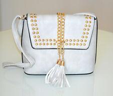 SAC à main pochette GRIS femme faux cuir doré pochette bolsa handtas bag G95