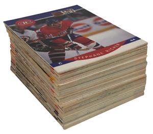 1990 NHL Pro Set Lot of 100 Hockey Cards [SPC]