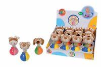 Simba Stehauf Figur mit Geräusch Babyspielzeug ab 6 Mon.
