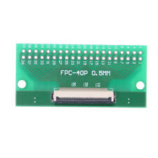 1Pcs 40Pin 0.5mm FFC FPC to 40P DIP 2.54mm PCB Converter Board Adapter ZPZY