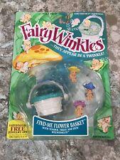 Kenner 1993 Fairywinkles Find Me Flower Basket Factory Sealed