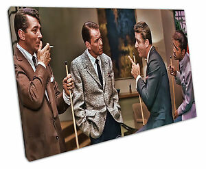 print on canvas Rat Pack Music wall art 30x20 Inch
