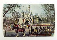 Sleeping Beauty Castle Postcard Disneyland Vintage 1972 Color 5.5 x 3.5 Unposted