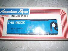 American Flyer #9701 Rock Box Car