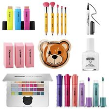 SEPHORA x MOSCHINO Limited Edition Full Set~ Brushes, Laptop Shadow, Lipgloss