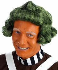 Childs Licensed Oompa Loompa Wig Chocolate Factory Book Day Wig by Rubies New