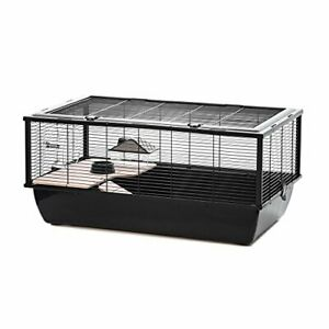 Little Friends Grosvenor Rat and Hamster Cage with Wooden Shelf and Ladder,