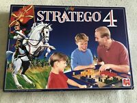 Vintage Stratego 4 Board Game War Strategy Jumbo 1995 100% Complete VGC!