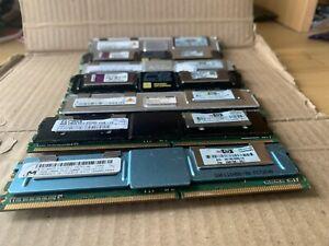 4 GB hynix HP Kingston DDR2 RAM 2Rx4 PC2 5300F ECC Ram